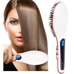 Kefa na vyrovnávanie vlasov - biela