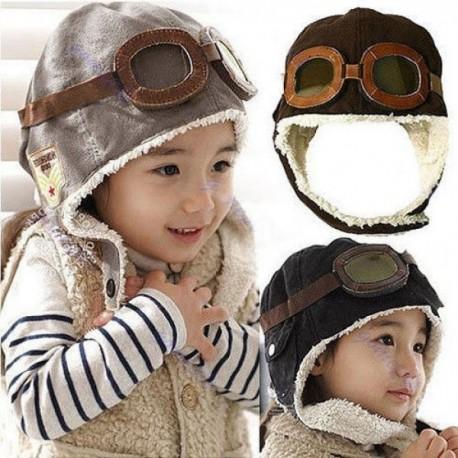 Čiapka pilotka pre deti