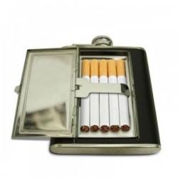 Ploskačka s puzdrom na cigarety