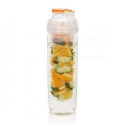 Zdravá fľaša na vodu s filtrom na ovocie