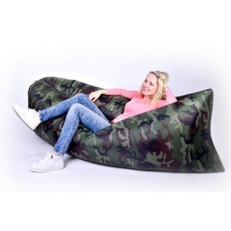 Samonafukovacie vrece Lazy Bag - maskáč