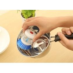 Kefa na umývanie riadu s dávkovačom saponátu
