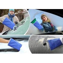 Autoškrabka s teplou rukavicou