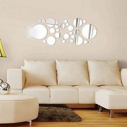 Nálepky na stenu/zrkadlo - kolieska