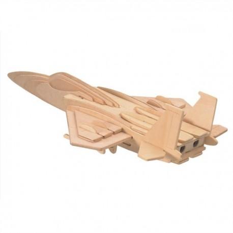 3D puzzle - F-15 - bojové lietadlo