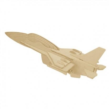 3D puzzle - F-16 - bojové lietadlo