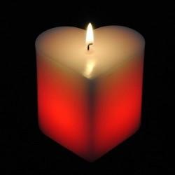 Kúzelná sviečka - srdce